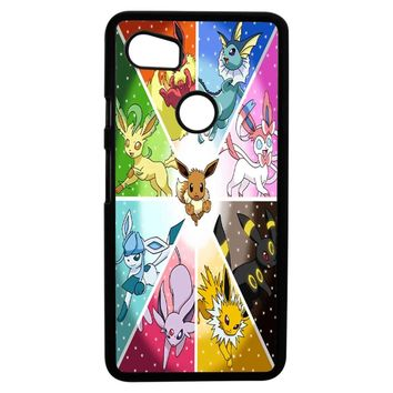 Pokemon The Eeveelutions Google Pixel 2XL Case