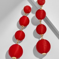Criselda Ball Drop Earrings