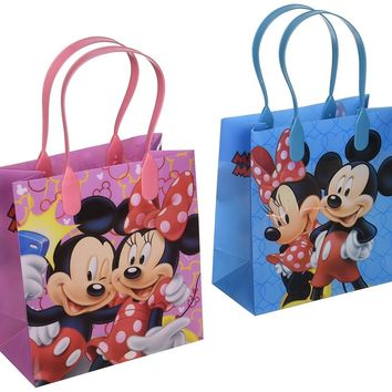 Disney Mickey and Minnie Mouse Character 12 Premium Quality Party Favor Reusable