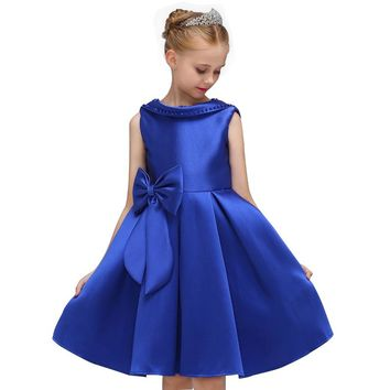 Girls Dress Baby Girl Floral Print Princess Dresses Kids Clothes Christmas Party Dress Elegent Tutu Dresses For Girls Costume