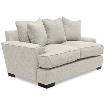 Ainsley Loveseat, Only at Macy's | macys.com