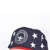 Southern Shirt Company American Flag Snapback Hat