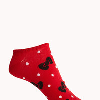 Hello Kitty Bow Ankle Socks