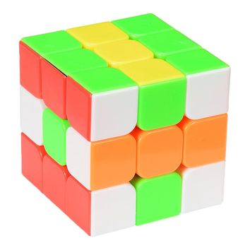 YJ Yulong Smooth Stickerless Speed Cube Puzzle 56mm