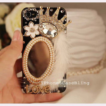 iPhone 5s case, iphone 5C case, iPhone 5 Case, Unique iphone 4 case, cute iphone 5 case, girly iphone 4s case, Furry iphone 4 case crown