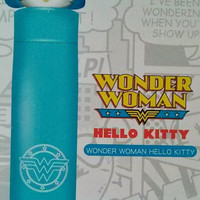 Sanrio Hello Kitty x Dc Comics Wonder Woman Water Color Changed Umbrella
