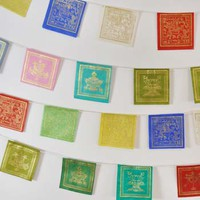 Mini Paper Prayer Flags