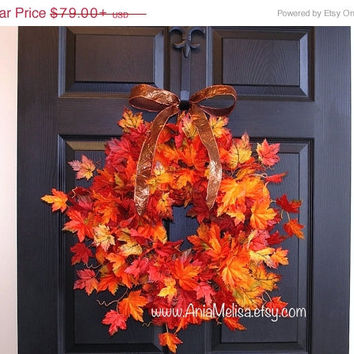 WREATHS ON SALE fall wreath for front door decorations, fall autumn wreaths outdoor wreaths, home decor housewares gift ideas