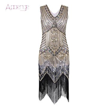 Retro 1920s Great Gatsby Dress