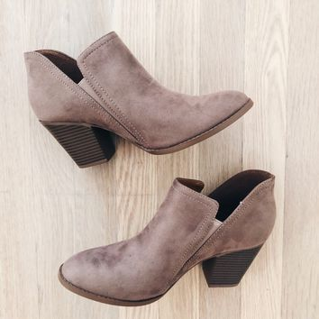 Haven Warm Taupe Booties