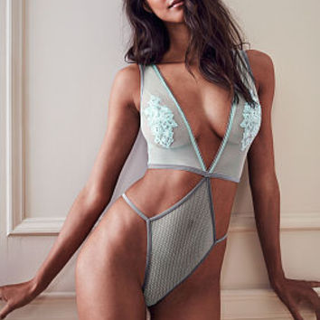 Strappy Embroidered Teddy - Dream Angels - Victoria's Secret
