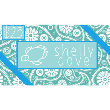 Shelly Cove Gift Card