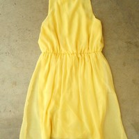 Sweet Yellow Daffodil Dress : Vintage Inspired Clothing & Affordable Summer Dresses, deloom | Modern. Vintage. Crafted.