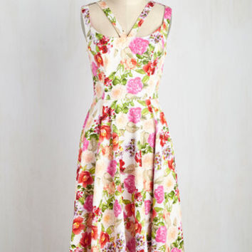 Bright and Shining Charmer Dress | Mod Retro Vintage Dresses | ModCloth.com