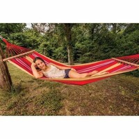 Hammock with Wood Ends