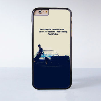 Paul Walker Plastic Phone Case For iPhone 6  More Style For iPhone 6/5/5s/5c/4/4s iPhone X 8 8 Plus