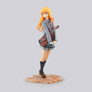Your Lie in April Miyazono Kaori 1/7 Scale Painted PVC Action Figure Collectible Model Toy 20cm