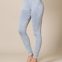 Control Fit Vintage Leggings - As Is Clearance