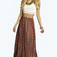 Grace Paisley Maxi Skirt