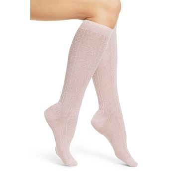 Tavi Noir - Isabella Knee High Cabled Socks | Gelato