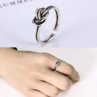 Gift Stylish Shiny Jewelry New Arrival Silver 925 Vintage Accessory Ring [11758974223]