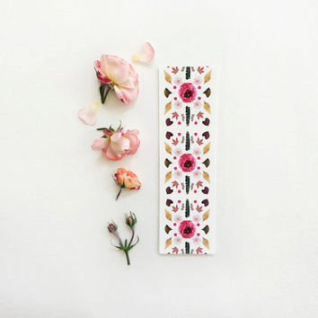 Bookmarks Set - Collage Series. Nature photography bookmark. Scandinavian style. Botanical. Book lovers gift. Mother's Day