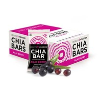 100 Calorie Chia Bars (15 Pack), Acai Berry