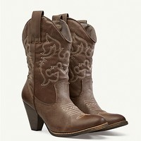 Classic Cowgirl Boots