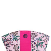 Tory Burch Medium Floral Print Nylon Cosmetics Case | Nordstrom