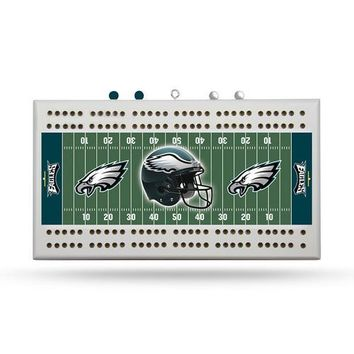 Philadelphia Eagles NFL Cribbage Board