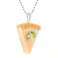 Scented Key Lime Pie Necklace