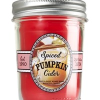 Mason Jar Candle Spiced Pumpkin Cider