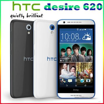 510 Original no case 100% Unlocked HTC Desire 510 5MP 2100mAh 4.7 Inches 8GB ROM Touch screen Refurbished Mobile Phone Free Shipping