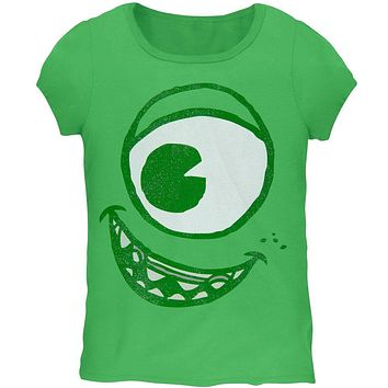 Monsters, Inc. - Mike Face Girls Juvy Costume T-Shirt