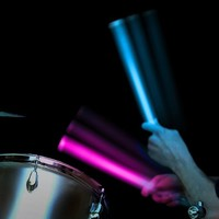 Ultra Bright Color Changing Drumsticks
