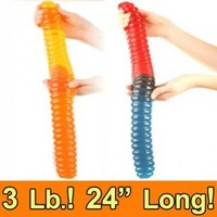 Sweet Factory Online Candy Store   America's Favorite Candy Store World's Largest Giant Gummy Worm-2 Toned (Gluten Free) Sweet Factory Online Candy Store   America's Favorite Candy Store