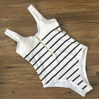 Summer Swimsuit New Arrival Beach Hot Slim Stripes Sexy Swimwear Bikini [10603725263]