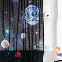 Galaxy Shower Curtain | Urban Outfitters
