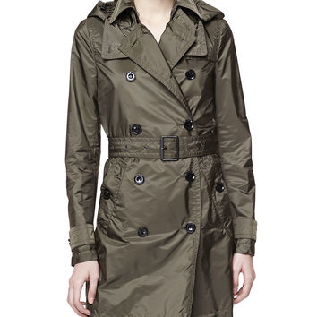 Double-Breasted Trench Coat, Military