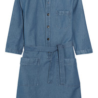 A.P.C. Atelier de Production et de Création - Nancy denim shirt dress