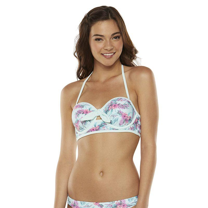 Candie S Floral Bandeau Bikini Top From Kohl S Things