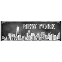 "Chalkboard ""New York"" Skyline Wall Décor"