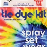 SEI Scrapbooking Tumble Dye Craft And Fabric Dye Kit Primary Red/Yellow/Blue (1-Pack)