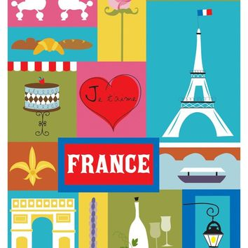 France - Collage