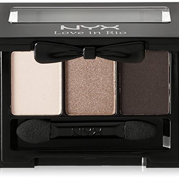 Nyx Cosmetics Love In Rio Eye Shadow Palette, No Tan Lines Allowed, 0.105 Ounce