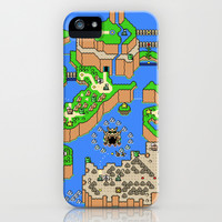 Mario World iPhone & iPod Case by Art by Ken