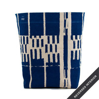 Floor Bin, Landscape Royal Blue