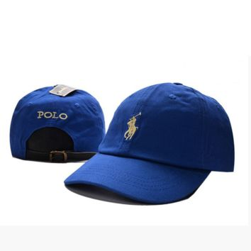 Blue Polo Embroidered Baseball Caps Hat