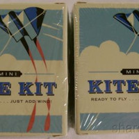Set 2 Kite Kit Lindsay Power Mega Mini Compact Book Outdoor Activity Outdoor Toy