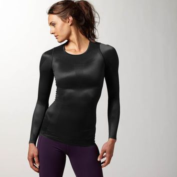 Reebok CrossFit O2CH4R63 Long Sleeve - Black | Reebok US